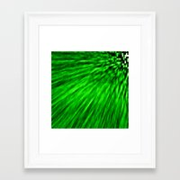 emerald Framed Art Prints featuring Emerald by SimplyChic
