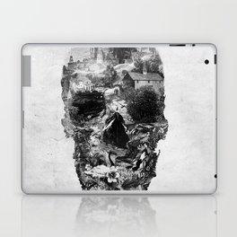 Town Skull B&W Laptop & iPad Skin