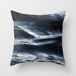 Sea Water Surface Texture 1 Throw Pillow