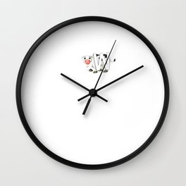 Cows Make Me Happy For The Souther Attitude graphic Wall Clock