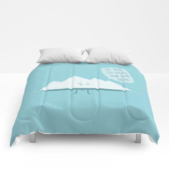 What LIES Below Comforters