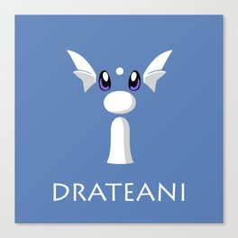 Drateani All Over Canvas Print