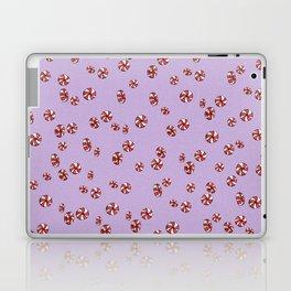 Peppermint Candy in Purple Laptop & iPad Skin