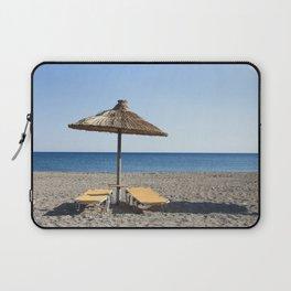 Agia Galini Beach Laptop Sleeve
