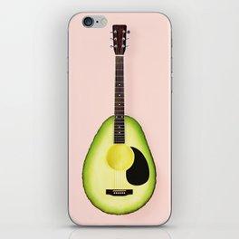 AVOCADO GUITAR iPhone Skin