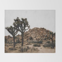 Joshua Tree / California Desert Throw Blanket