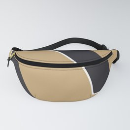 Bold abstract nude Fanny Pack
