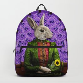 Miss Bunny Lapin in Repose Backpack