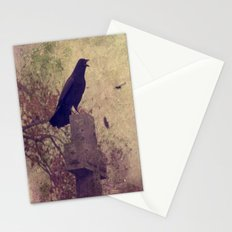 Give Warning Stationery Cards