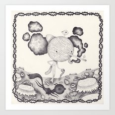 Le deuxième bourgeon Art Print