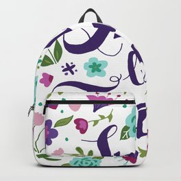 Small but Feisty with Florals Backpack