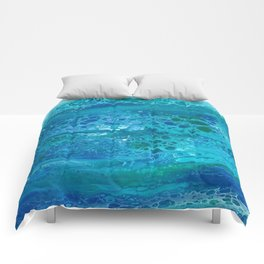 Colors of the Sea No.1 Comforters