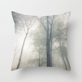 Cathedral of Trees Throw Pillow