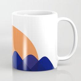 Sun, meet mountains Coffee Mug