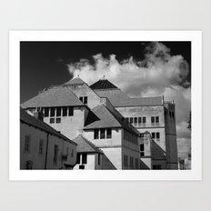 York Modern architecture Art Print