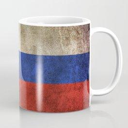 Old and Worn Distressed Vintage Flag of Slovenia Coffee Mug