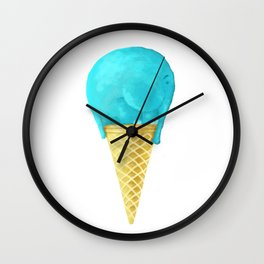 elefant icecream Wall Clock