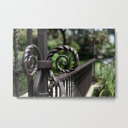Curled up and twisted Metal Print