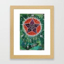 New Stars Framed Art Print
