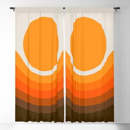 Golden Canyon Blackout Curtain