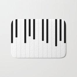 Piano keys, music background #society6 #decor #buyart #artprint Bath Mat