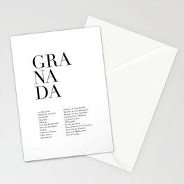Granada Stationery Cards