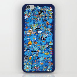 Twitter birds iPhone Skin