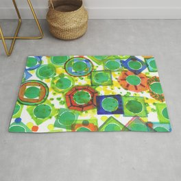 Green Core Qualities Rug