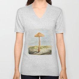 Mushland - Watercolors Unisex V-Neck