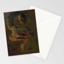 Ram Skull Stationery Cards