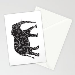 Elephant Angles (Help Save Endangered Elephants) Stationery Cards