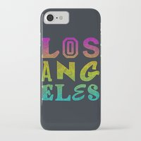 los angeles iPhone & iPod Cases featuring Los Angeles by Fimbis