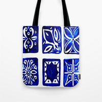 morocco Tote Bags featuring Morocco by Patti Friday