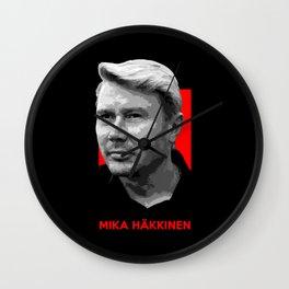 Formula One - Mika Hakkinen Wall Clock
