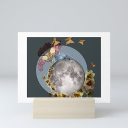 Moonlit Nap Mini Art Print