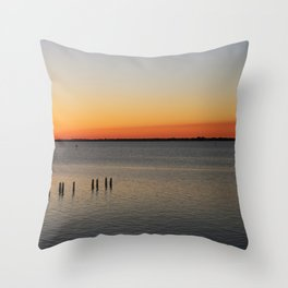 Southwest Florida Sunset Throw Pillow