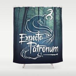 Expecto Patronum Shower Curtain