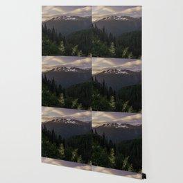 Never Stop Exploring - Cascade Sunset Wallpaper