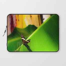 Butterfly Tanning- Photo Laptop Sleeve