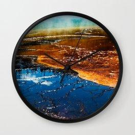 Grand Prismatic Spring Wall Clock