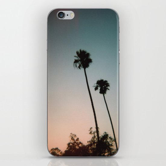 Sunset Palms iPhone & iPod Skin