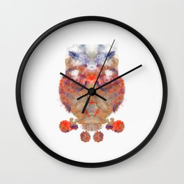 Inkdala XVI - Ink Blot Wall Clock