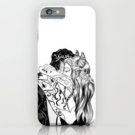 King and Queen of Faerie iPhone Case