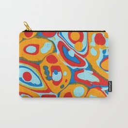 Flattened Harlequins Carry-All Pouch