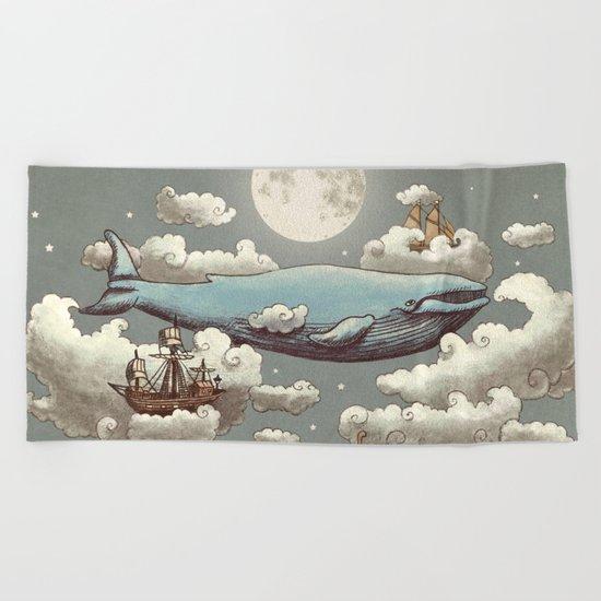 Ocean Meets Sky Beach Towel