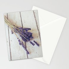 lavender bunch Stationery Cards