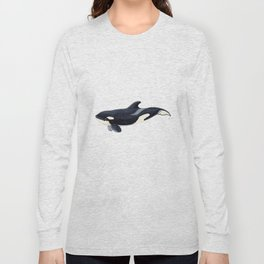 Baby orca Long Sleeve T-shirt