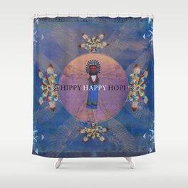 Hippi Happy Hopi Shower Curtain
