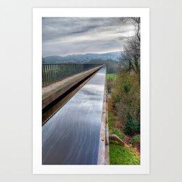 Llangollen Canal Art Print