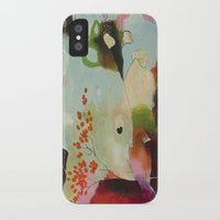 """flora bowley iPhone & iPod Cases featuring """"Deep Embrace"""" Original Painting by Flora Bowley by Flora Bowley"""